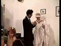 And The Bride Wore Cum