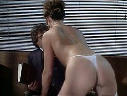 Renee Morgan sucks Jamie's cock