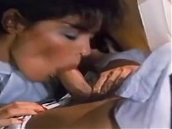 Vintage Blowjob And Ejaculation Under The Table