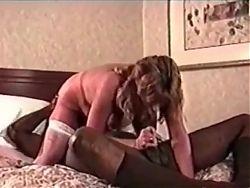 Interracial Vintage milf fucked by BBC