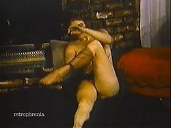 vintage striptease music video
