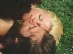 Vintage collage threesome scenes